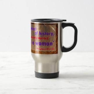 歴史のほとんどのために、匿名女性はでした トラベルマグ