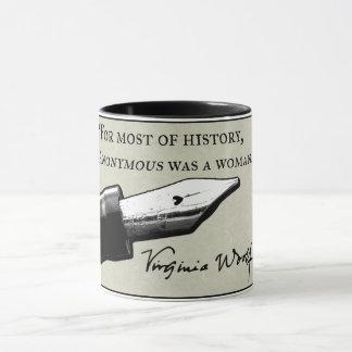 """""""歴史のほとんどのため、匿名女性はでした。"""" マグカップ"""