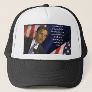 歴史のバラック・オバマの引用文 キャップ