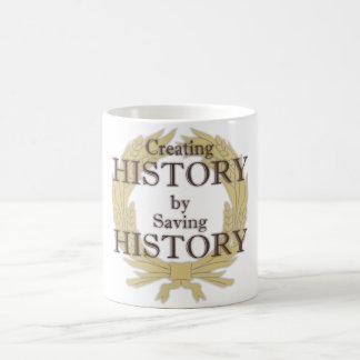 歴史のリースのマグの作成 コーヒーマグカップ