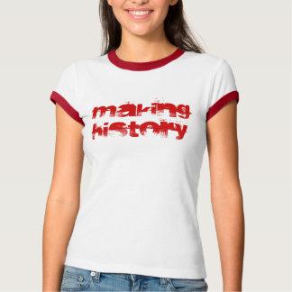 歴史の作成 Tシャツ