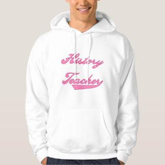 歴史の先生のピンクのTシャツおよびギフト パーカ