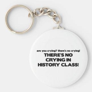 歴史クラスの泣き叫び無し キーホルダー