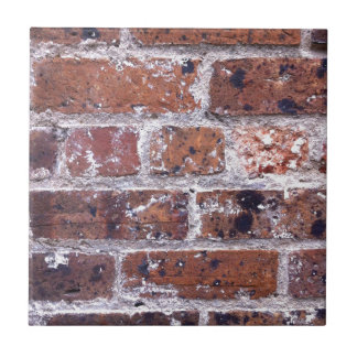 歴史的で18世紀な赤レンガの壁 タイル