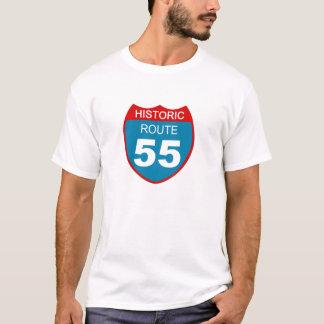 歴史的なルート55 Tシャツ