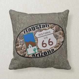歴史的なルート66の~のFlagstaff、アリゾナ クッション