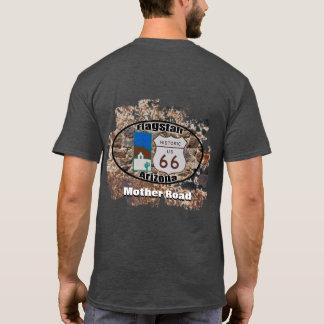 歴史的なルート66の~のFlagstaff、アリゾナ Tシャツ