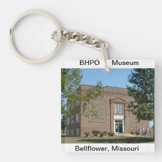 歴史的な博物館の写真が付いているアクリルのキーホルダー キーホルダー