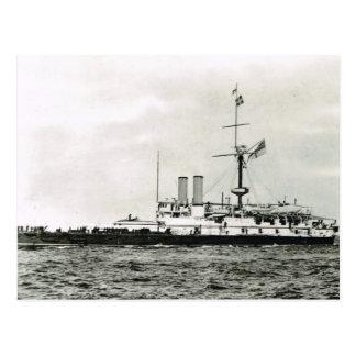 歴史的な船、   HMSビクトリア ポストカード