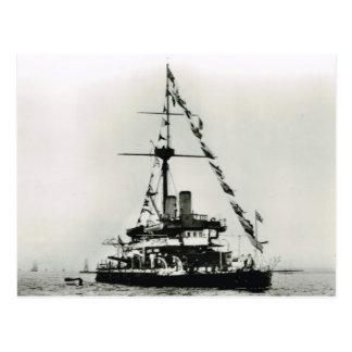 歴史的な船HMSの荒廃 ポストカード