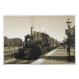 歴史的な鉄道 ランチョンマット