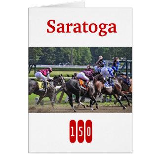歴史的なSaratogaは150歳を回します。 カード