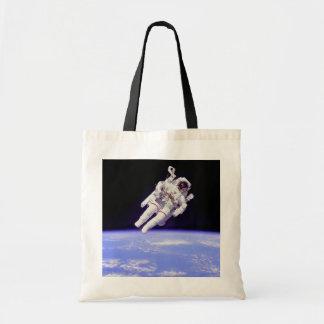 歴史的なUntethered宇宙遊泳 トートバッグ