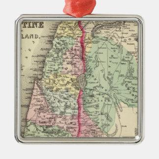 歴史的パレスチナ メタルオーナメント