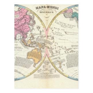 歴史的世界地図3 ポストカード