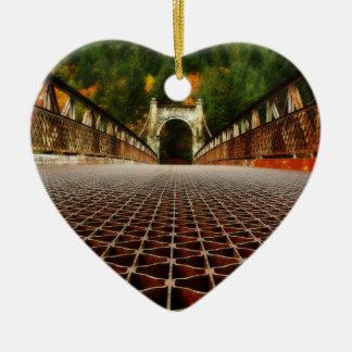 歴史的伝統橋建築 セラミックオーナメント