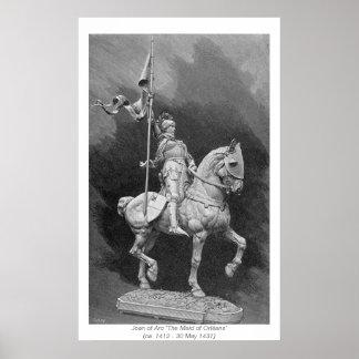 歴史的女性-ジャンヌダルク ポスター