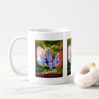 歴史的旅行はプエルトリコを発見します コーヒーマグカップ