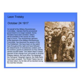 歴史、ロシア革命、Trotskyのスピーチ1917年 ポストカード