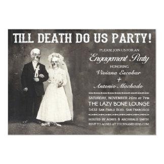 死が私達をパーティーの婚約パーティの招待状するまで 12.7 X 17.8 インビテーションカード