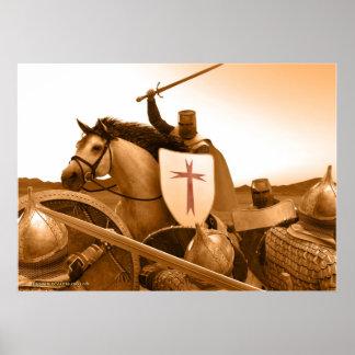 死に来られる騎士Templar - ポスター
