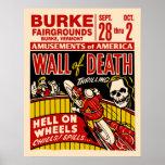 死のオートバイポスターのヴィンテージの壁 ポスター