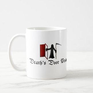 死のドア コーヒーマグカップ