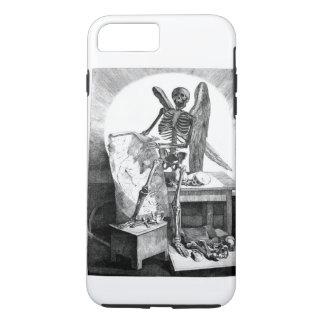 死のヴィンテージの解剖学の天使 iPhone 8 PLUS/7 PLUSケース