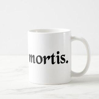 死の原因 コーヒーマグカップ