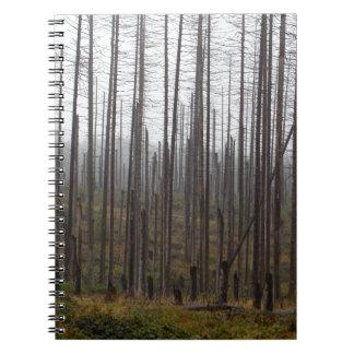 死の小ぎれいな木 ノートブック