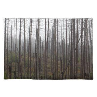 死の小ぎれいな木 ランチョンマット
