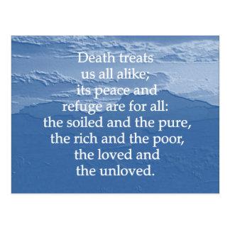 死の平等 ポストカード