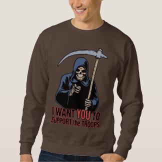 死の支援システム スウェットシャツ