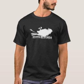 死の記録 Tシャツ