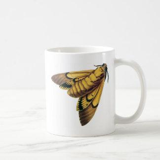 死の頭部のタカガ コーヒーマグカップ