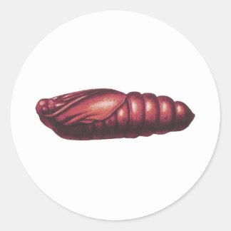 死の頭部のタカガ ラウンドシール