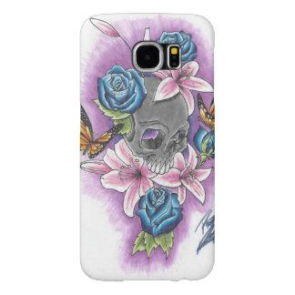 死のSamsungGalaxy美しい6sのやっとそこに場合 Samsung Galaxy S6 ケース