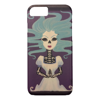 死は彼女のiPhone 7の場合になります iPhone 8/7ケース