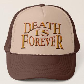 死は永遠です キャップ