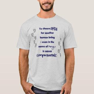 死は決して慈悲深くないです Tシャツ