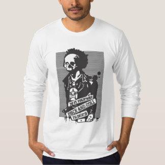 死へのロックンロール Tシャツ