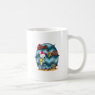 死までゲーマー コーヒーマグカップ