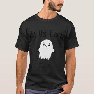 死まで私達を部分の幽霊のカップルのワイシャツして下さい Tシャツ