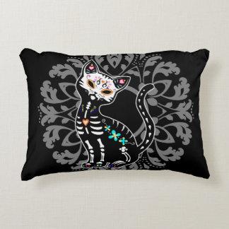 死んだかわいい猫の習慣のモノグラムのガーリーな日 アクセントクッション