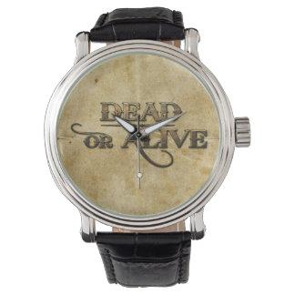 死んだか生きた 腕時計
