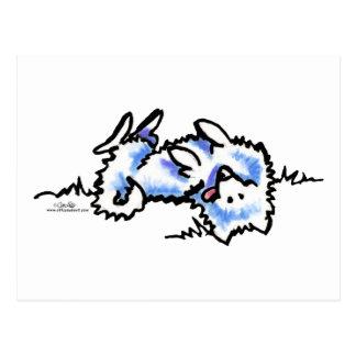 死んだアメリカのエスキモー犬の演劇 ポストカード
