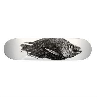 死んだイズミダイSaltonの海板 20cm スケートボードデッキ