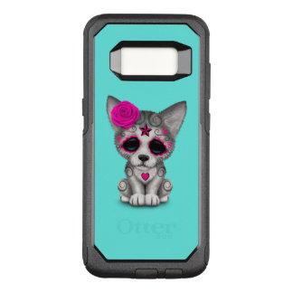 死んだオオカミカブスのピンク日 オッターボックスコミューターSamsung GALAXY S8 ケース