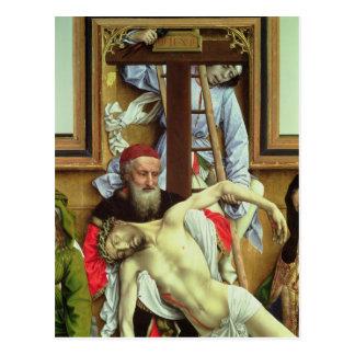 死んだキリストを支えているArimatheaのヨセフ ポストカード