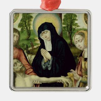 死んだキリスト、c.1520の哀悼 メタルオーナメント